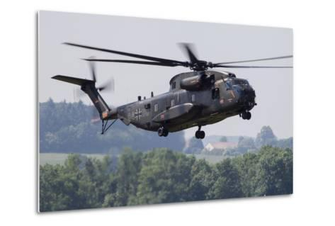 An Upgraded Ch-53Ga Helicopter of the German Air Force-Stocktrek Images-Metal Print