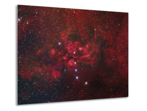 Ngc 6357, the Lobster Nebula in Scorpius-Stocktrek Images-Metal Print