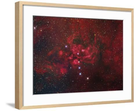 Ngc 6357, the Lobster Nebula in Scorpius-Stocktrek Images-Framed Art Print