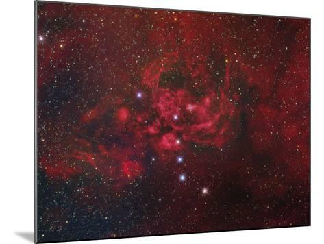 Ngc 6357, the Lobster Nebula in Scorpius-Stocktrek Images-Mounted Photographic Print
