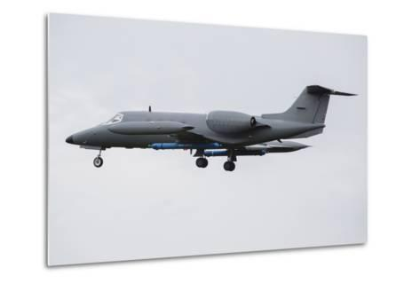 Learjet Used to Simulate Electronix Threats at Nato Exercise Frisian Flag 2015-Stocktrek Images-Metal Print