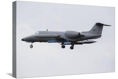 Learjet Used to Simulate Electronix Threats at Nato Exercise Frisian Flag 2015-Stocktrek Images-Stretched Canvas Print