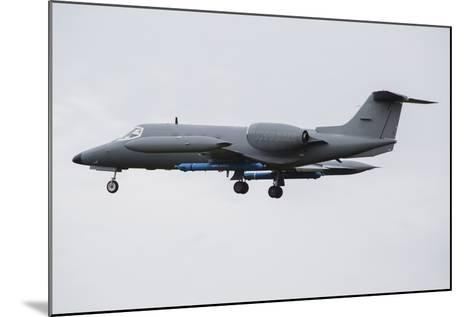 Learjet Used to Simulate Electronix Threats at Nato Exercise Frisian Flag 2015-Stocktrek Images-Mounted Photographic Print
