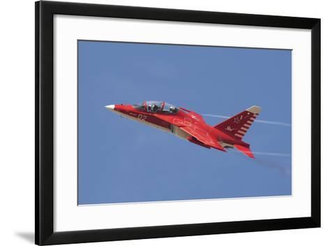 A Special Painted Yak-130 Performing at an Airshow-Stocktrek Images-Framed Art Print