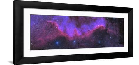 Cygnus Wall, Ngc 7000, the North American Nebula-Stocktrek Images-Framed Art Print