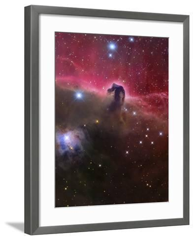 The Horsehead Nebula, Barnard 33 in the Orion Constellation-Stocktrek Images-Framed Art Print