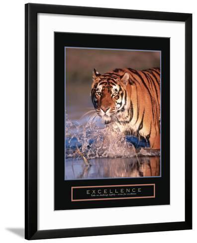 Excellence--Framed Art Print
