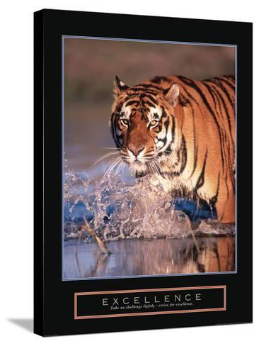 Excellence--Stretched Canvas Print