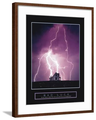 Bad Luck--Framed Art Print