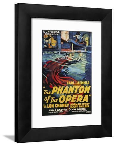 The Phantom of the Opera Movie Lon Chaney 1925--Framed Art Print