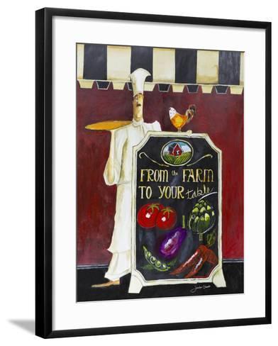 Farm to Table-Jennifer Garant-Framed Art Print