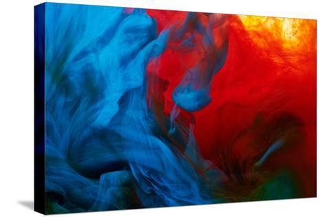 Abstract Paint Splash-Nik_Merkulov-Stretched Canvas Print