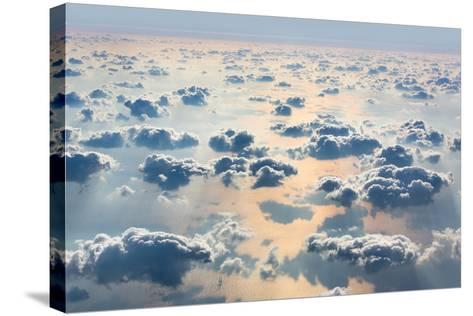 Sky with Clouds- misu-Stretched Canvas Print