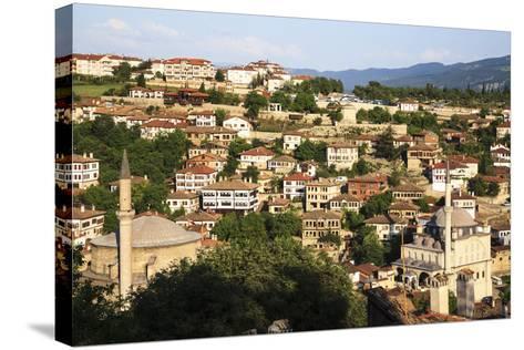 Old Ottoman Houses in Safranbolu, Karabuk, Turkey- Gunerkaya-Stretched Canvas Print