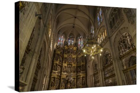 Burgos Catedral- jjmillan-Stretched Canvas Print