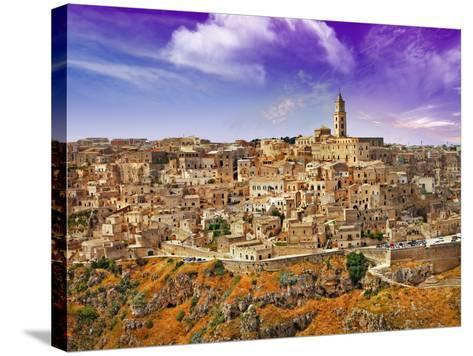 Incretible Italy Series - Ancient Mattera, Basilicata-Freesurf-Stretched Canvas Print