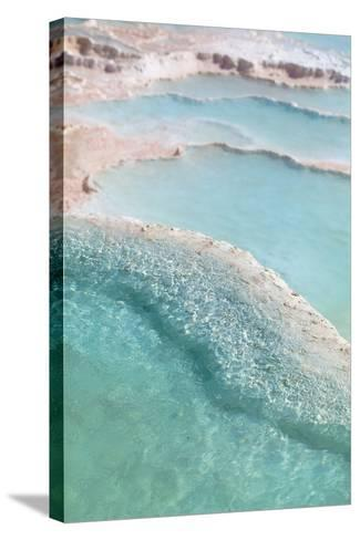 Pamukkale Travertines-EvanTravels-Stretched Canvas Print