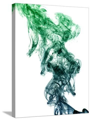 Colored Smoke-Alekss-Stretched Canvas Print