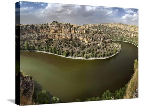 Hoces Del Duraton. Segovia.- Argonautis-Stretched Canvas Print