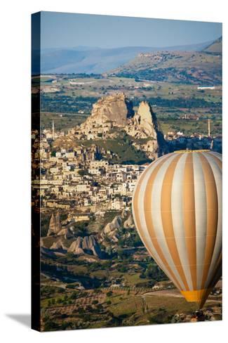 Hot Air Balloons over Cappadocia, Turkey-EvanTravels-Stretched Canvas Print