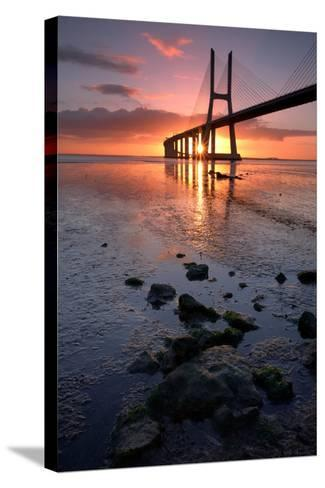 The Bridge of Stones- nmaia-Stretched Canvas Print