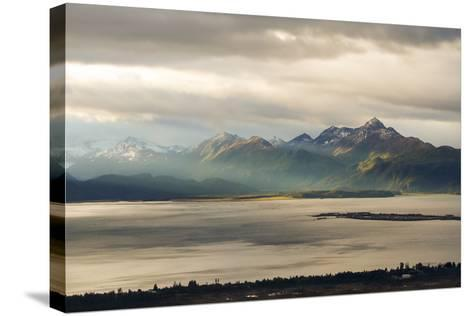 Late Summer in Alaska-Latitude 59 LLP-Stretched Canvas Print