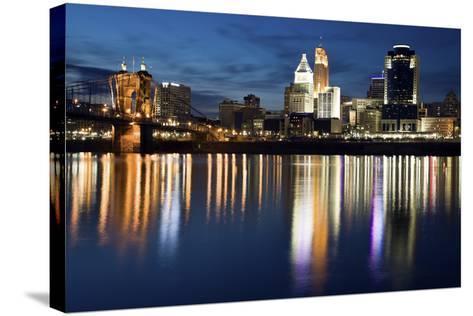 Cincinnati-benkrut-Stretched Canvas Print