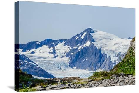 Path to Portage Glacier-Latitude 59 LLP-Stretched Canvas Print