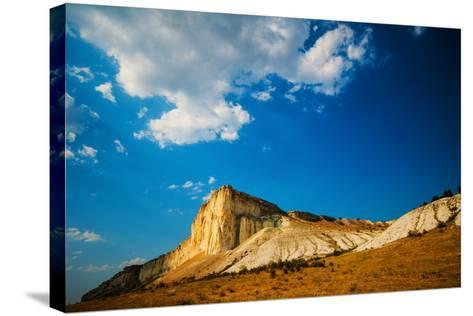 White Rock-Grafmaster-Stretched Canvas Print