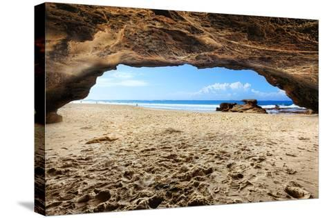 Caves Beach, NSW Australia-lovleah-Stretched Canvas Print