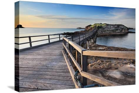 Sunrise at Bare Island Australia-lovleah-Stretched Canvas Print