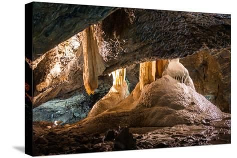 Inside of A Cave-Kayco-Stretched Canvas Print