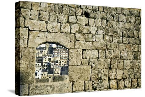 Architecture of Tripoli-benkrut-Stretched Canvas Print