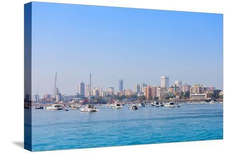 Mumbai Skyline-saiko3p-Stretched Canvas Print