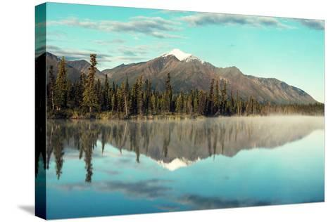 Lake on Alaska-Galyna Andrushko-Stretched Canvas Print