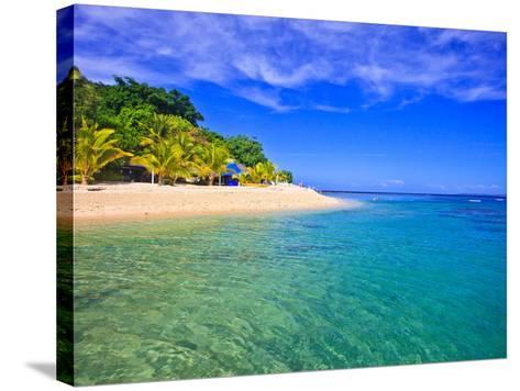 Hideaway Island--Beautiful Tropical Island in Vanuatu-juancat-Stretched Canvas Print