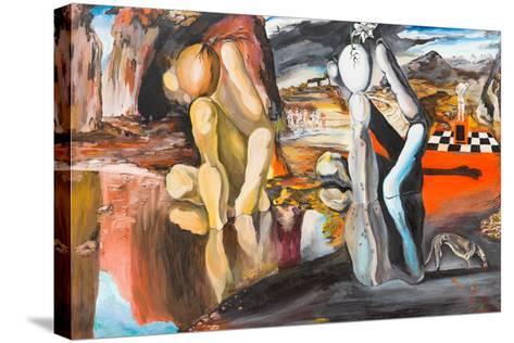 Metamorphosis of Narcissus-shotsstudio-Stretched Canvas Print