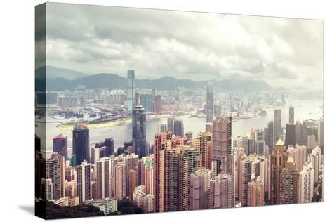 Hong Kong Island-lapas77-Stretched Canvas Print