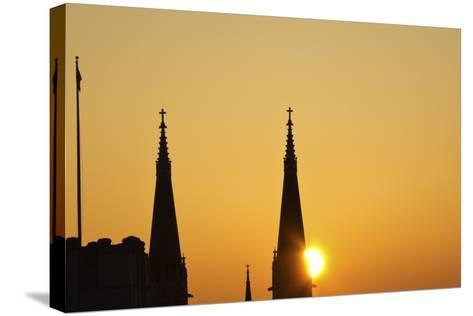 St Mary's Catholic Church-benkrut-Stretched Canvas Print