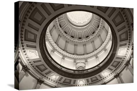 Denver, Colorado - State Capitol Building-benkrut-Stretched Canvas Print
