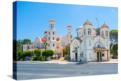 The Churches of Larnaka-efesenko-Stretched Canvas Print
