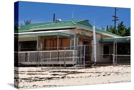 Abandoned Beach House-fernando2148-Stretched Canvas Print