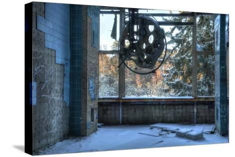 Abandoned Operating Theater in Beelitz-Stefan Schierle-Stretched Canvas Print