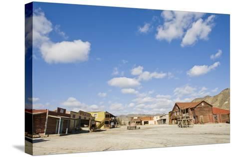 Wild West Town-aluxum-Stretched Canvas Print