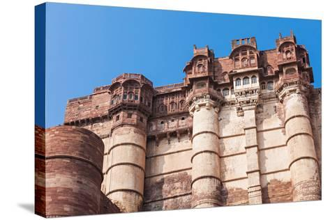 Mehrangarh Fort, Jodhpur-saiko3p-Stretched Canvas Print
