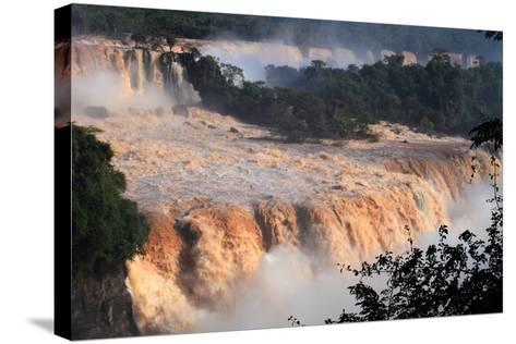 Igua?u National Park-Ralf Broskvar-Stretched Canvas Print