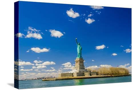 The Statue of Liberty-Vividus-Stretched Canvas Print