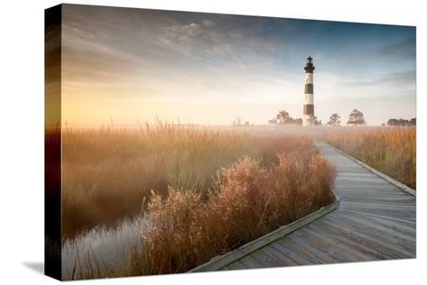 Bodie Island Lighthouse North Carolina Outer Banks-markvandyke-Stretched Canvas Print
