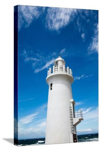 Lighthouse- noritama777-Stretched Canvas Print