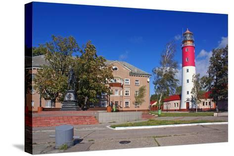 The Lighthouse in the Baltic-Ekaterina Ufimtseva-Stretched Canvas Print